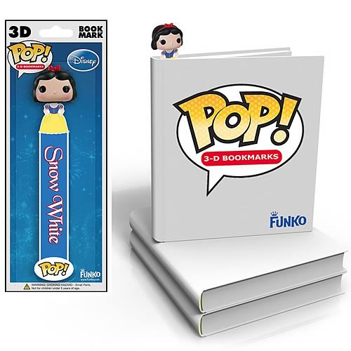 Snow White Mini-Pop! 3-D Bookmark