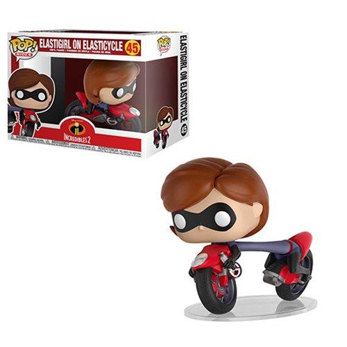Incredibles 2 Elastigirl on Elasticycle Pop!, Not Mint