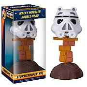 Star Wars Angry Birds Stormtrooper Pig Bobble Head