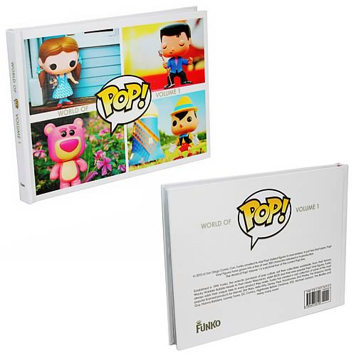 Funko Pop! Vinyl World of Pop! Volume 1 Hardcover Book