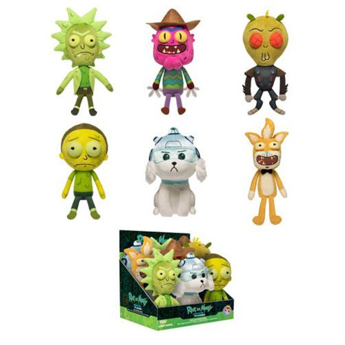 Rick and Morty Series 2 Galactic Plushies Display Case