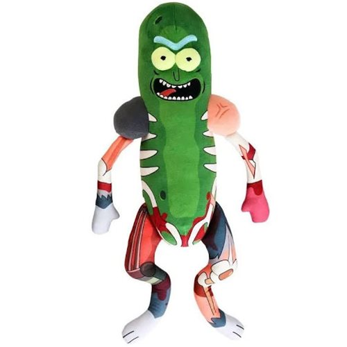 Rick and Morty Pickle Rick 18-Inch Galactic Plushie
