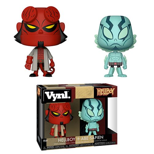 Hellboy and Abe VYNL Figure 2-Pack