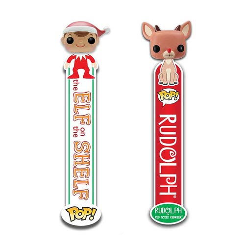 Christmas Holiday Pop! Vinyl 3-D Bookmark Set