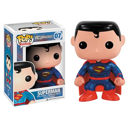 Superman New 52 Previews Exclusive Pop! Vinyl Figure