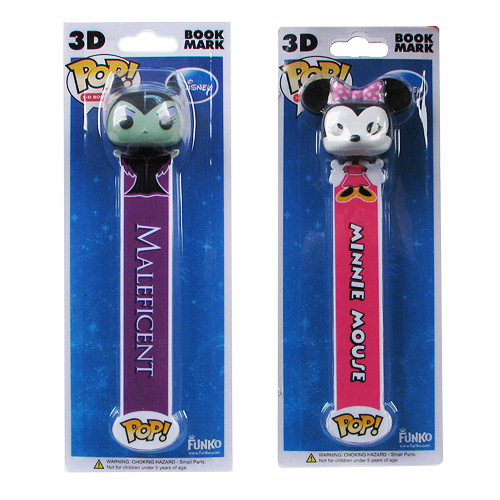 Disney 3-D Bookmark Series 1 Set