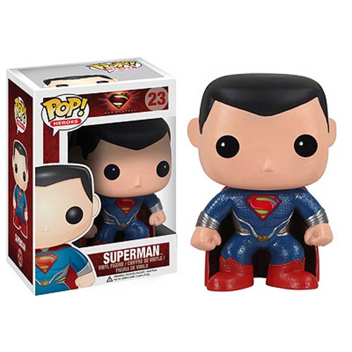 Superman Man of Steel Movie Pop! Vinyl Figure