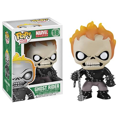 Ghost Rider Marvel Pop! Vinyl Bobble Head