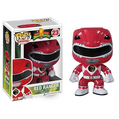 Mighty Morphin Power Rangers Red Ranger Pop! Vinyl Figure
