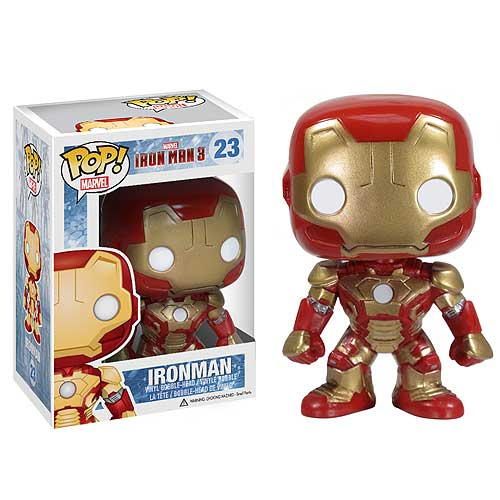 Iron Man 3 Movie Mark 42 Pop! Vinyl Bobble Head