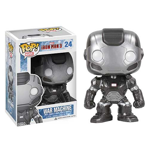 Iron Man 3 Movie War Machine Pop! Vinyl Bobble Head