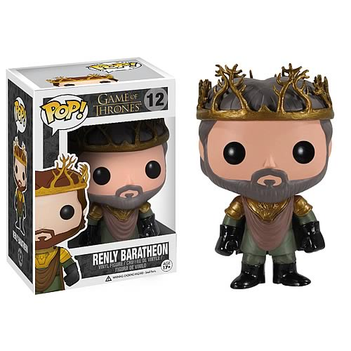 Game of Thrones Renly Baratheon Pop! Vinyl Figure