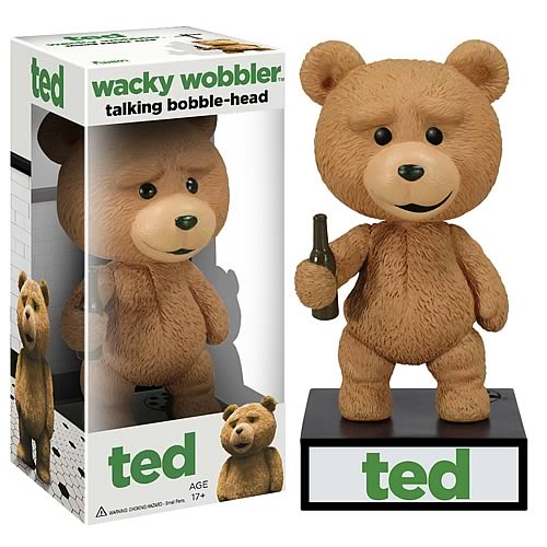 Ted Talking Bobble Head