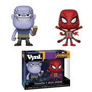 Avengers: Infinity War Thanos and Iron Spider Vynl. 2-Pack