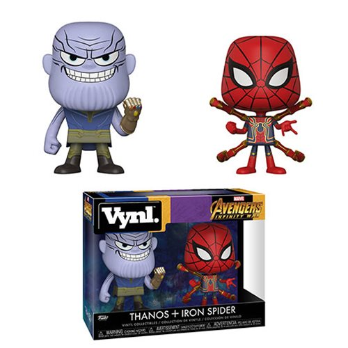 Avengers_Infinity_War_Thanos_and_Iron_Spider_Vynl_Figure_2Pack