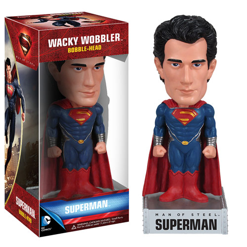 Superman Man of Steel Movie Bobble Head
