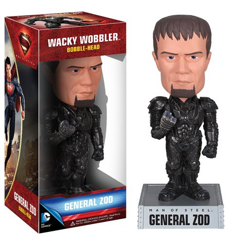 Superman Man of Steel Movie General Zod Bobble Head