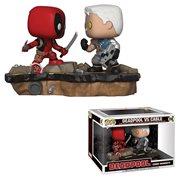 Marvel Deadpool VS Cable Pop! Vinyl Comic Moments