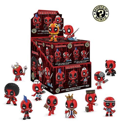 Deadpool Playtime Mystery Minis Display Case