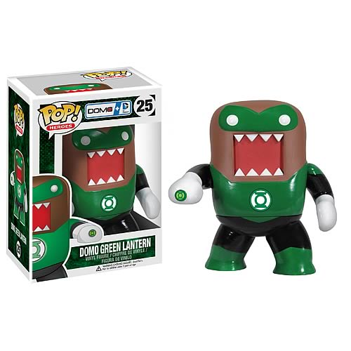 Green Lantern Domo DC Heroes Pop! Vinyl Figure, Not Mint