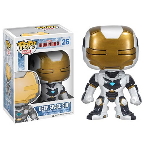 Iron Man 3 Movie Iron Man Deep Space Pop! Vinyl Bobble Head