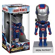 Iron Man 3 Movie Iron Patriot 7-Inch Bobble Head