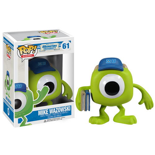 Monsters University Mike Wazowski Disney Pop! Vinyl Figure