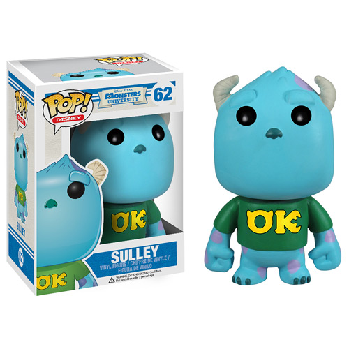 Monsters University Sulley Disney Pop! Vinyl Figure