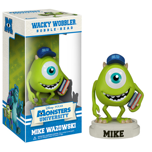 Monsters University Mike Wazowski Bobble Head