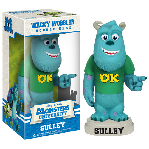 Monsters University Sulley Bobble Head