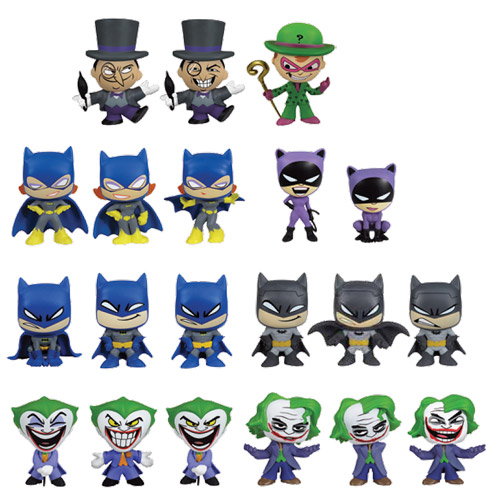 Batman DC Comics Mystery Minis Vinyl Mini-Figure 4-Pack