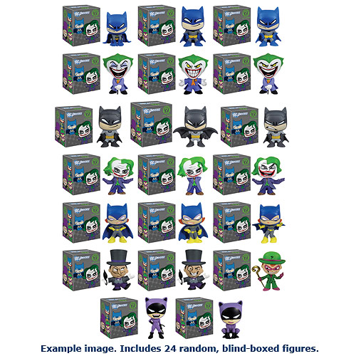 Batman DC Comics Mystery Minis Vinyl Mini-Figure Display Box