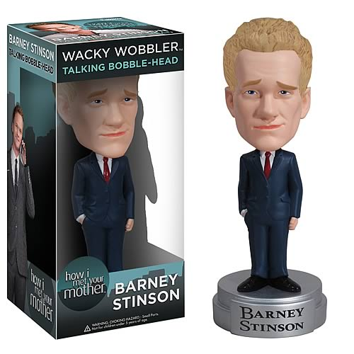 How I Met Your Mother Barney Stinson Talking Bobble Head