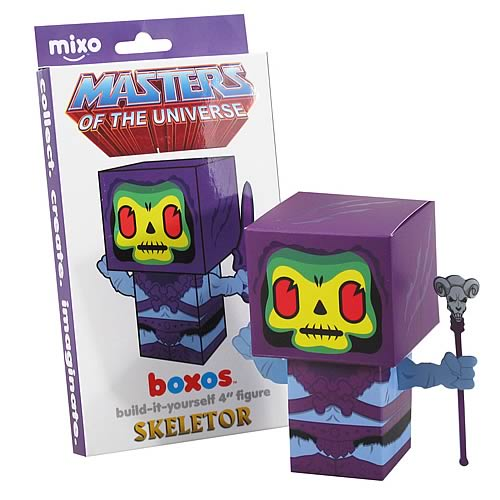 Masters of the Universe Skeletor Boxo Papercraft