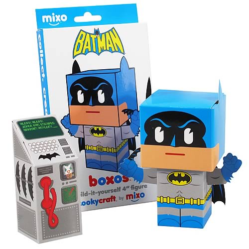 Batman Boxo Papercraft