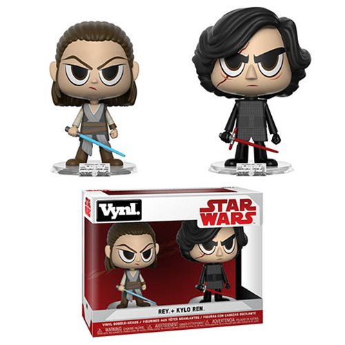 Star Wars Rey and Kylo Ren Vynl. Figure 2-Pack