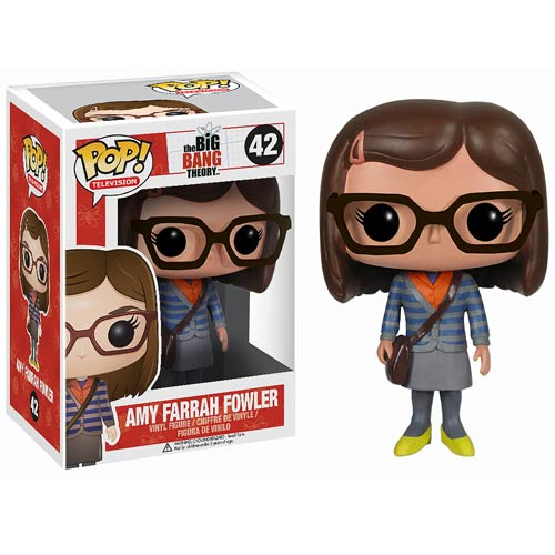 Big Bang Theory Amy Farrah Fowler Pop! Vinyl Figure