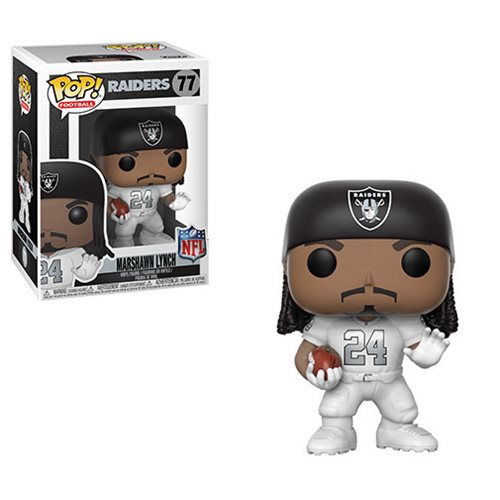 NFL Marshawn Lynch Raiders Color Rush Pop! Vinyl Figure #77