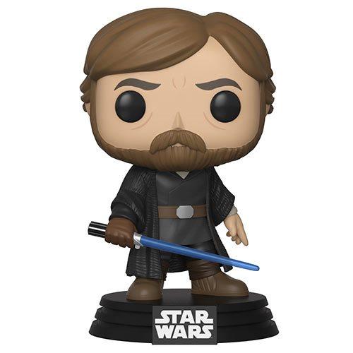 Star Wars TLJ Luke Skywalker Final Battle Pop! Bobble Head