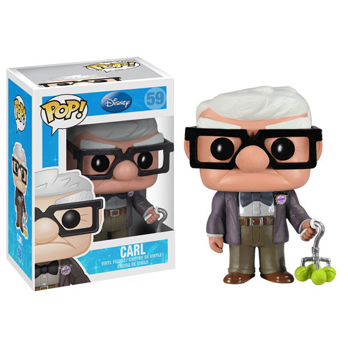 Up Carl Disney Pixar Pop! Vinyl Figure