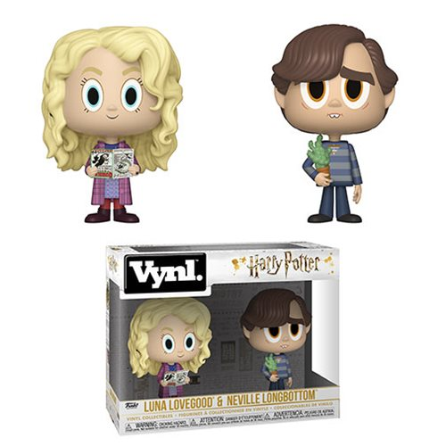 Harry Potter Luna and Neville Vynl Figure 2-Pack