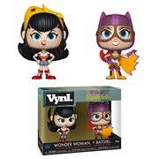 DC Bombshells Wonder Woman and Batgirl Vynl. Figure 2-Pack