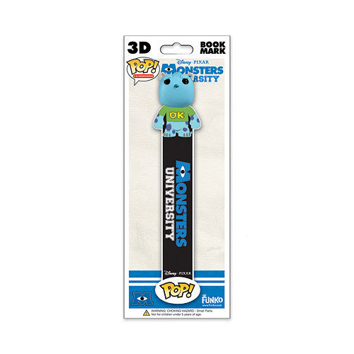 Monsters University Sulley 3-D Pop! Vinyl Bookmark