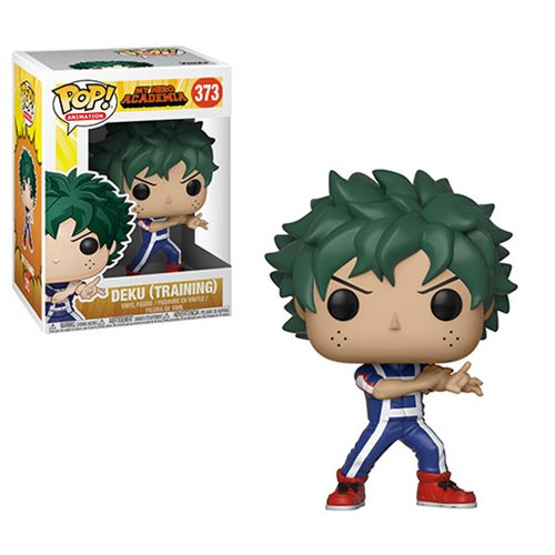My Hero Academia Deku Training Pop! Vinyl Figure #373