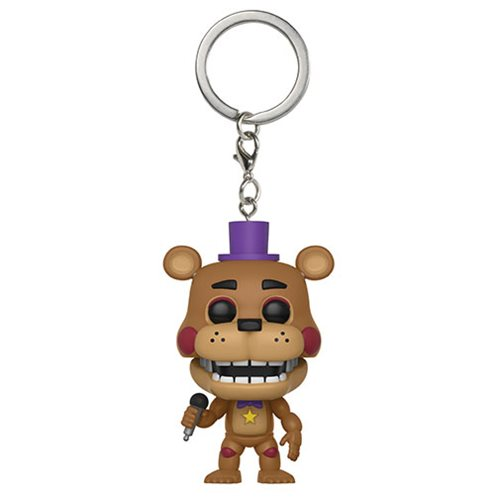 FNAF Pizza Simulator Rockstar Freddy Pocket Pop! Key Chain