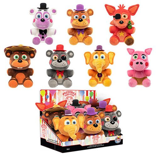 Five Nights at Freddy's Pizza Simulator Plush Display Case