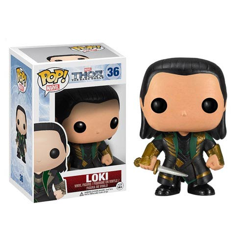 Thor The Dark World Movie Loki Marvel Pop! Vinyl Bobble Head