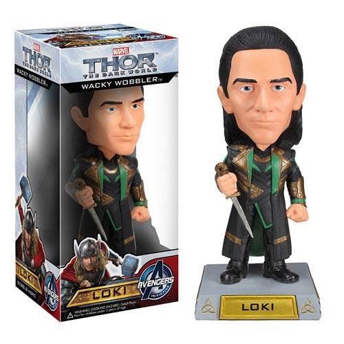 Thor The Dark World Movie Loki Marvel Bobble Head