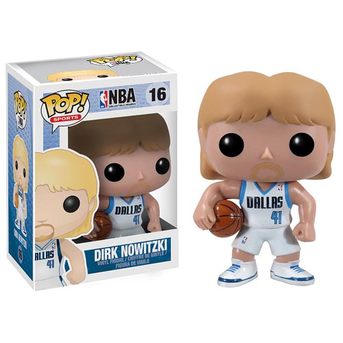 NBA Series 2 Dirk Nowitzki Pop! Vinyl Figure