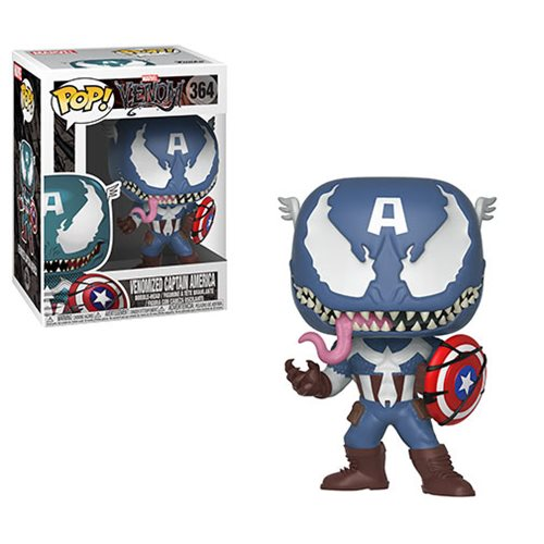 Marvel Venom Venomized Captain America Pop! Vinyl #364